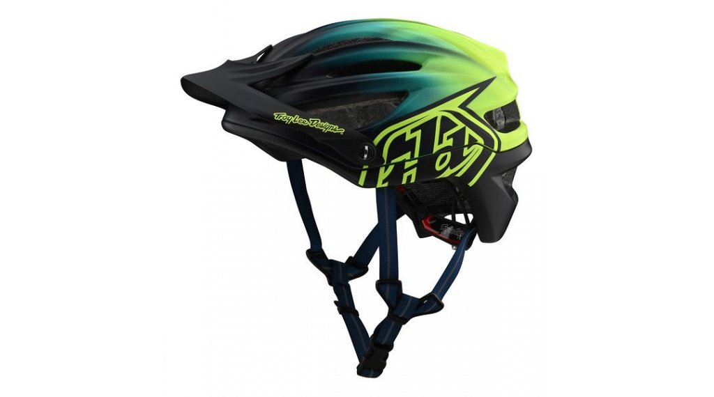 Troy Lee Designs A2 MIPS MTB-Helm Gr. SM (S) staind navy/yellow Mod. 2020