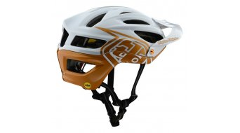 Troy Lee Designs A2 MIPS MTB-Helm Gr. SM (S) decoy pearl white/gold Mod. 2020