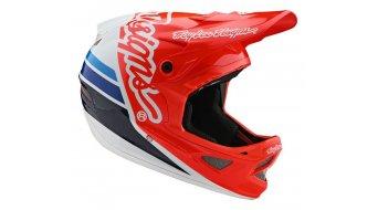 Troy Lee Designs D3 (FL) Fiberlite Fullface MTB-Helm Gr. MD (M) silhouette red/white Mod. 2020