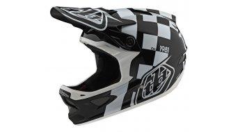 Troy Lee Designs D3 (FL) Fiberlite Fullface MTB(山地)头盔 型号 raceshop 款型 2020