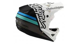 Troy Lee Designs D3 (FL) Fiberlite Fullface MTB-Helm Gr. MD (M) silhouette white/navy Mod. 2020