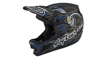 Troy Lee Designs D4 Carbon MIPS MTB-Helm Limited Edition Gr. M eyeball blue Mod. 2020