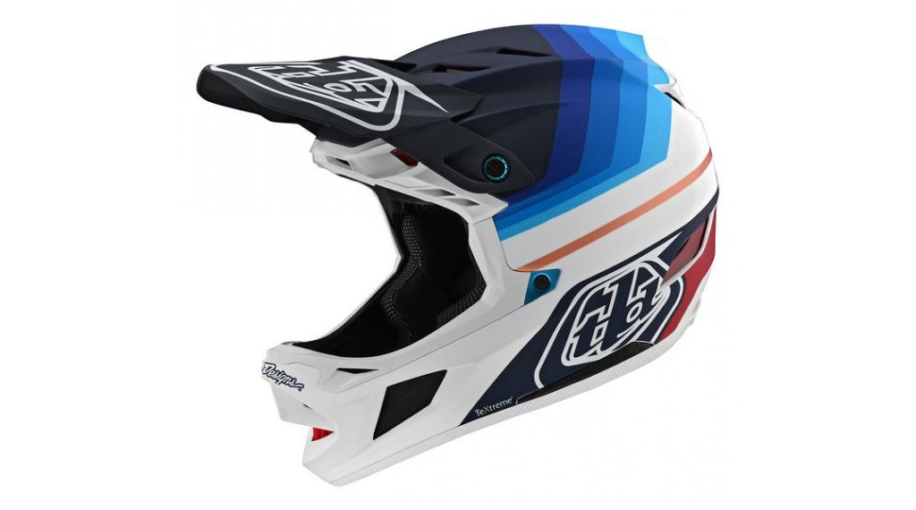 Troy Lee Designs D4 Carbon MIPS Fullface МТБ каска, размер SM (S) mirage navy/бяла модел 2020