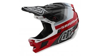 Troy Lee Designs D4 Carbon MIPS Fullface MTB-Helm Gr. SM (S) mirage sram black/red Mod. 2020