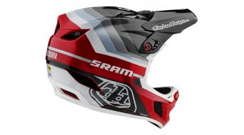 Troy Lee Designs D4 Carbon MIPS Fullface MTB(山地)头盔 型号 XS mirage SRAM black/red 款型 2020