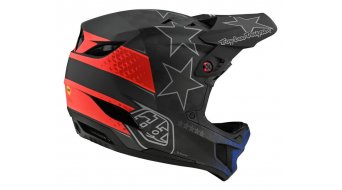 Troy Lee Designs D4 Carbon MIPS Fullface МТБ каска, размер SM (S) freedom 2.0 черно/червено модел 2020
