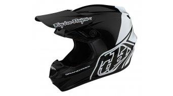 Troy Lee Designs GP Fullface MX头盔 型号 block black/white 款型 2020