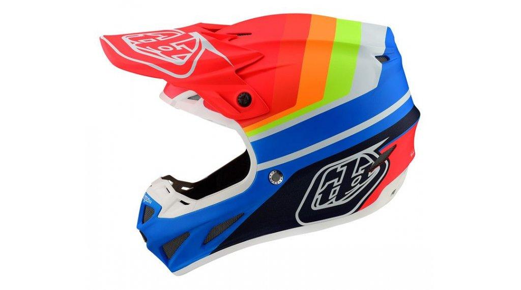 2020 Troy Lee Designs Azul Rojo SE4 compuesto Mirage MX MOTO