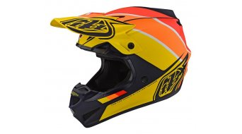 Troy Lee Designs SE 4 Mips Polyacrylite MX-Helm Gr. SM (S) beta navy/yellow Mod. 2020