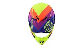Troy Lee Designs SE 4 Mips Polyacrylite MX头盔 型号 SM (S) beta yellow/purple 款型 2020