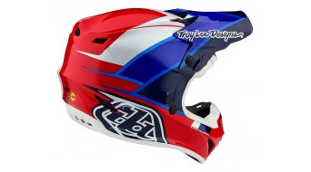 Troy Lee Designs SE 4 Mips Polyacrylite casco MX mis. SM (S) beta red/blue mod. 2020