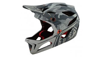 Troy Lee Designs Stage Stealth MIPS Fullface MTB- helmet stealth 2019