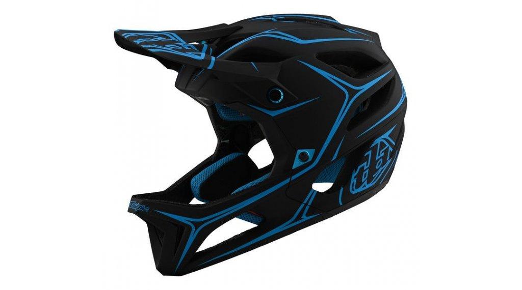 Troy Lee Designs Stage MIPS Fullface MTB-Helm Gr. XS/SM (XS/S) pinstripe black/cyan Mod. 2020