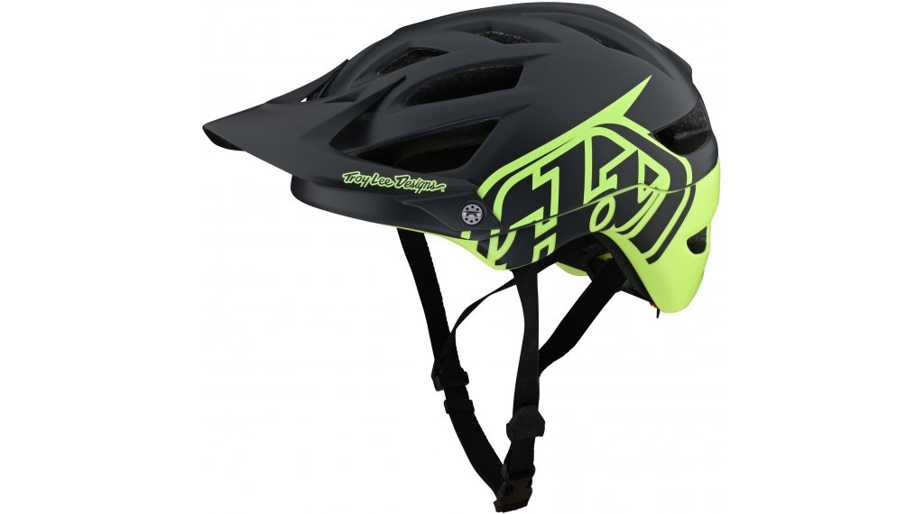Troy Lee Designs A1 Classic MIPS Fahrradhelm Gr. S (54-56cm) gray/green