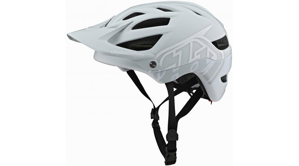 Troy Lee Designs A1 Classic MIPS Fahrradhelm Gr. M/L (57-59cm) light gray/white