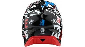 Troy Lee Designs D3 Anarchy Fiberlite casco integral Fahrradhelm tamaño XS (53-54cm) negro