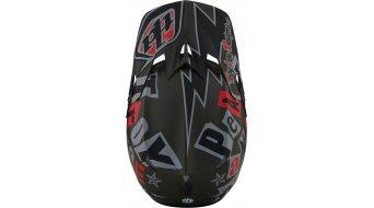 Troy Lee Designs D3 Anarchy Fiberlite casco integral Fahrradhelm tamaño S (55-56cm) olive
