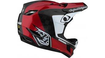 Troy Lee Designs D4 Corsa SRAM carbono MIPS casco integral Fahrradhelm tamaño S (55-56cm) rojo