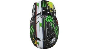 Troy Lee Designs D4 carbono Monster casco integral MTB-casco tamaño XS (53-54cm) zink negro