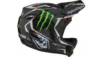 Troy Lee Designs D4 carbono Monster casco integral MTB-casco tamaño XS (53-54cm) fairclough negro