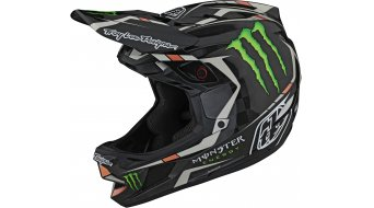 Troy Lee Designs D4 karbon Monster Fullface MTB-sisak black