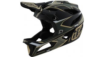 Troy Lee Designs Stage Ropo MIPS Fullface MTB-Helm green/gold