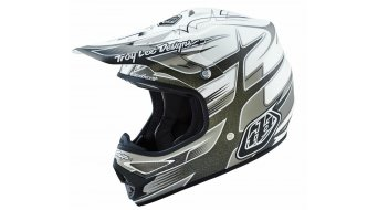 Troy Lee Designs Air casco mis. M (57-58cm) starbreak matte white mod. 2016