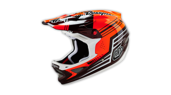 Troy Lee Designs D3 Carbon casco Fullface- casco mis. M (56-57cm) berzerk red mod. 2016- modello espositivo