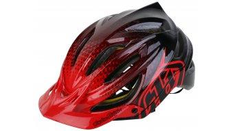 Troy Lee Designs A2 MIPS MTB-Helm Gr. XL/XXL (60-62cm) starburst red Mod. 2018 - VORFÜHRTEIL ohne OVP