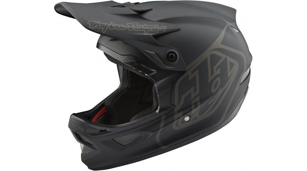 Troy Lee Designs D3 (FL) Fiberlite Fullface MTB-Helm Gr. XS mono black Mod. 2020