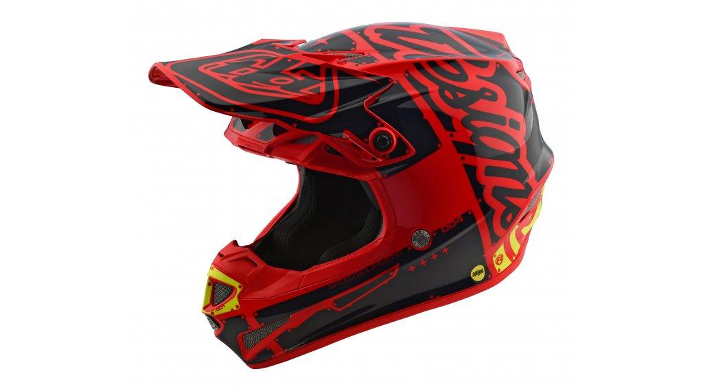 Troy Lee Designs SE4 Mips Polyacrylite MX-casco Mod. 2018 ffdfa05aeb4