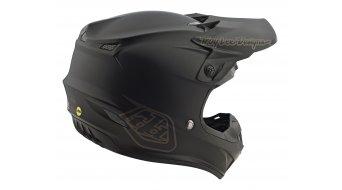 Troy Lee Designs SE4 MIPS Polyacrylite MX头盔 型号 S (55-56厘米) mono black 款型 2020