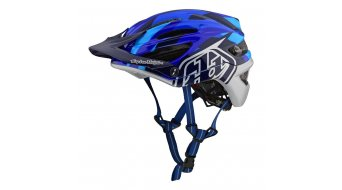 Troy Lee Designs A2 MIPS MTB-Helm Gr. XL/2X (XL/XXL) (60-62cm) jet blue