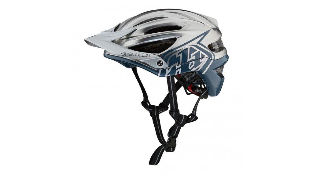 Troy Lee Designs A2 MIPS MTB- fietshelm maat SM (S) (54-56cm) decoy af blue/silver