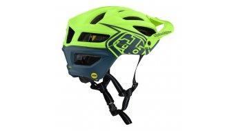 Troy Lee Designs A2 MIPS MTB- fietshelm maat SM (S) (54-56cm) decoy flo yellow