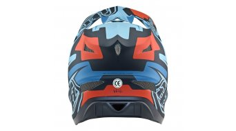 Troy Lee Designs D3 (FL) Fiberlite Fullface-Helm GR. XL (60-62cm) Speedcode blue/black Mod. 2019