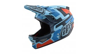 Troy Lee Designs D3 (per) Fiberlite Fullface- casco . mod. 2019