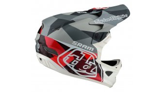 Troy Lee Designs D3 (CF) Carbon Mips Fullface casco Limited Edition mis. MD (M) (56-57) jet sram red mod. 2019