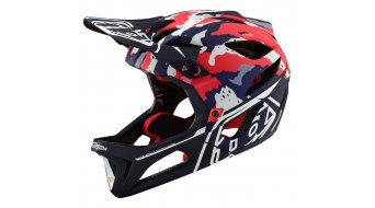 Troy Lee Designs Stage MIPS Fullface MTB-Helm red/white/blue Mod. 2019
