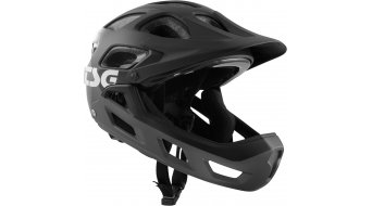 TSG Seek FR Graphic Design Fullface MTB-Helm Kinder Gr. XXS/XS (52-56cm) flow grey/black Mod. 2020
