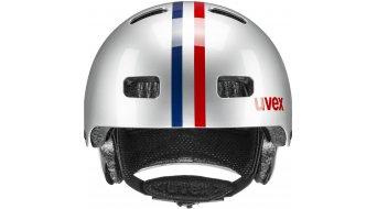 Uvex Kid 3 Kinder-Helm Gr. 55-58cm race silver