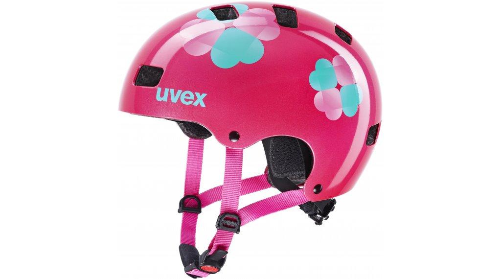 Uvex Kid 3 Kinder-Helm Gr. 51-55cm pink flower