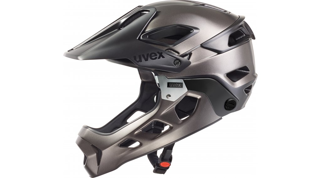 uvex jakkyl hde mtb fullface helm matt g nstig kaufen. Black Bedroom Furniture Sets. Home Design Ideas