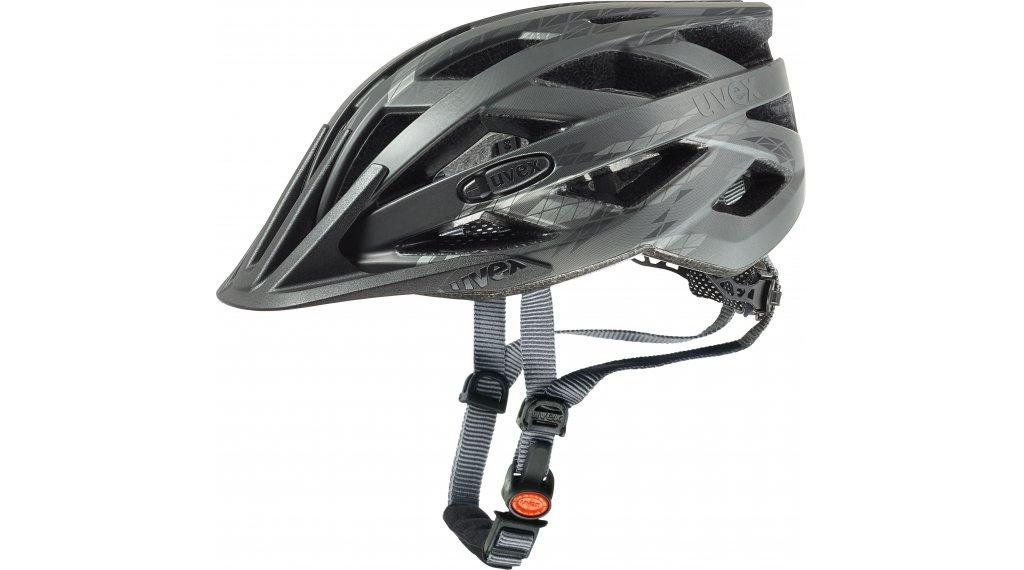 Uvex I-VO CC Fahrrad头盔 型号 52-57厘米 black/smoke matt