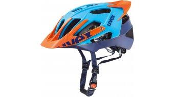 Uvex Quatro Pro MTB casco tamaño 52-57cm azul/naranja mat