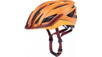 Uvex Ultra SNC casco MTB . arancione/red mat