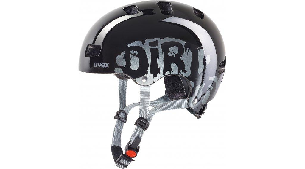 Uvex Kid 3 Kinder-Helm Gr. 51-55cm dirtbike black
