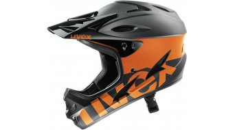 Uvex HLMT 9 Bike Helm MTB-Helm black-orange
