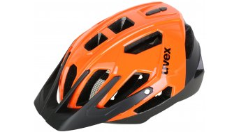 Uvex Quatro casco All Mountain/Enduro casco MTB . neon arancione- black Limited Edition