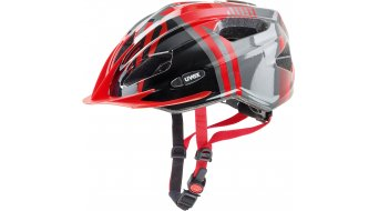 Uvex Quatro Junior Helm Kinder-Helm Gr. 50-55cm red-anthracite